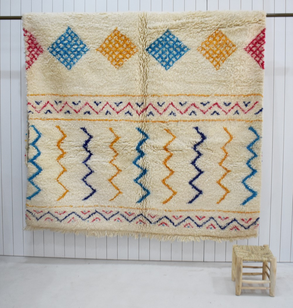 Original and colorful Mrirt rug
