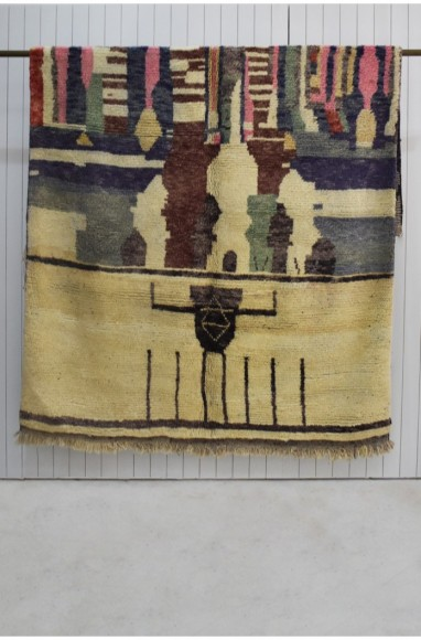 """Berber rug """"The Seven Saints"""""""