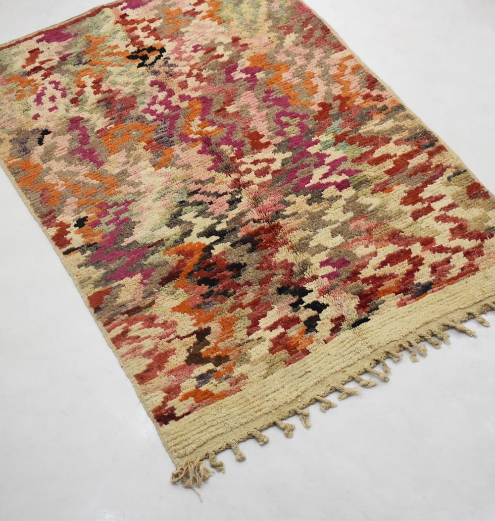 "Berber carpet ""troubling vision"" very colorful"