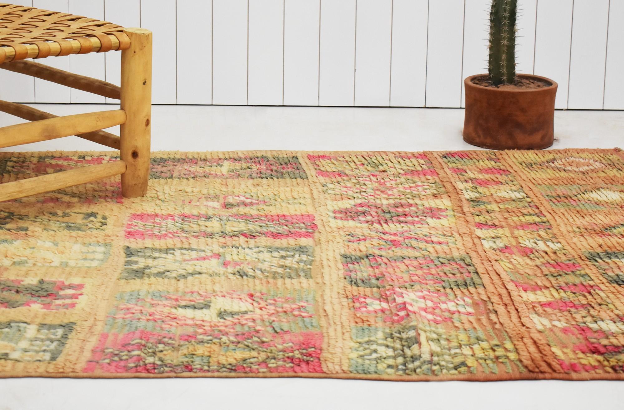 """Berber carpet """"Slabs of Berber patterns"""""""