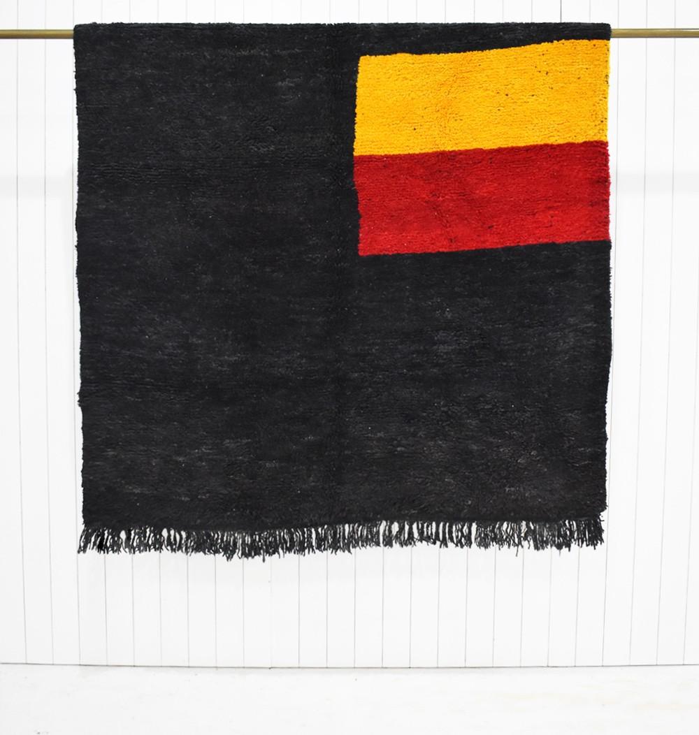 "Berber carpet black gray background ""Etandard"""