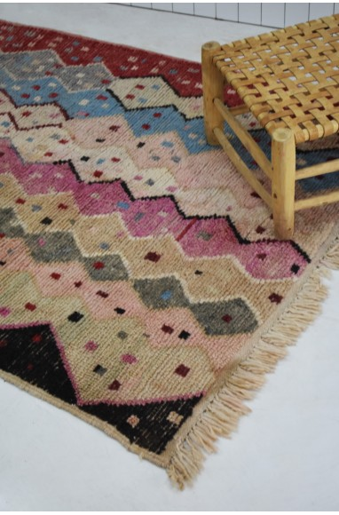 Berber carpet Colorful friezes and confetti