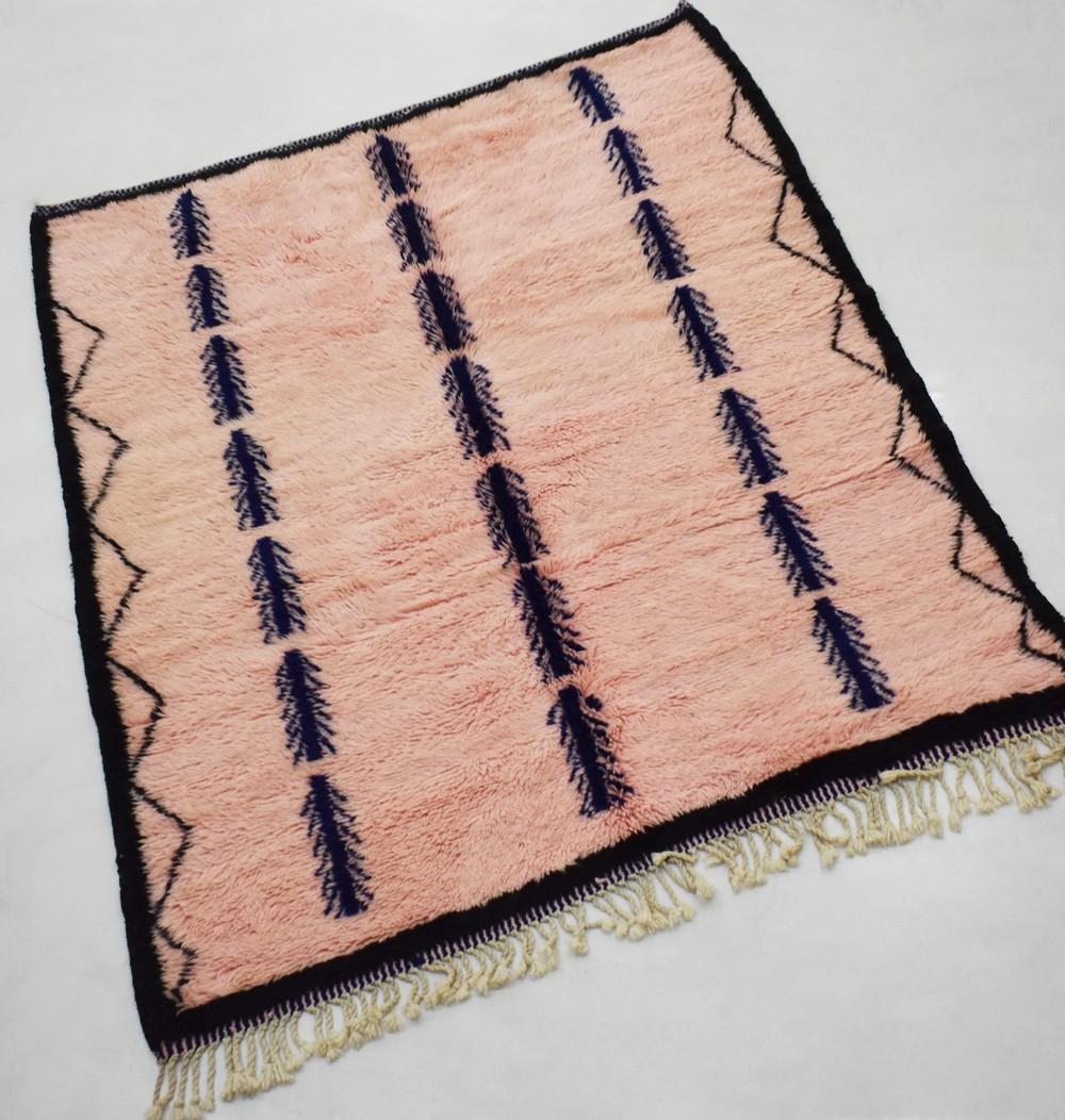 Tapis berbère chaînes de plumes