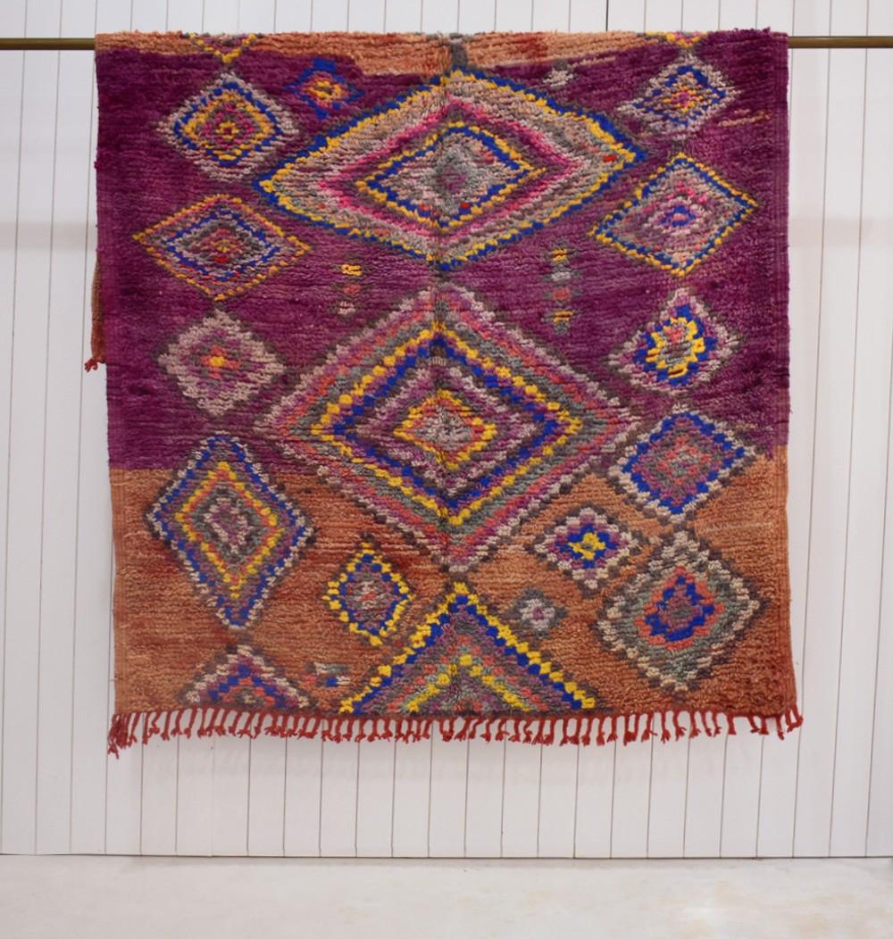 """Berber carpet """"Pavés de losanges"""""""