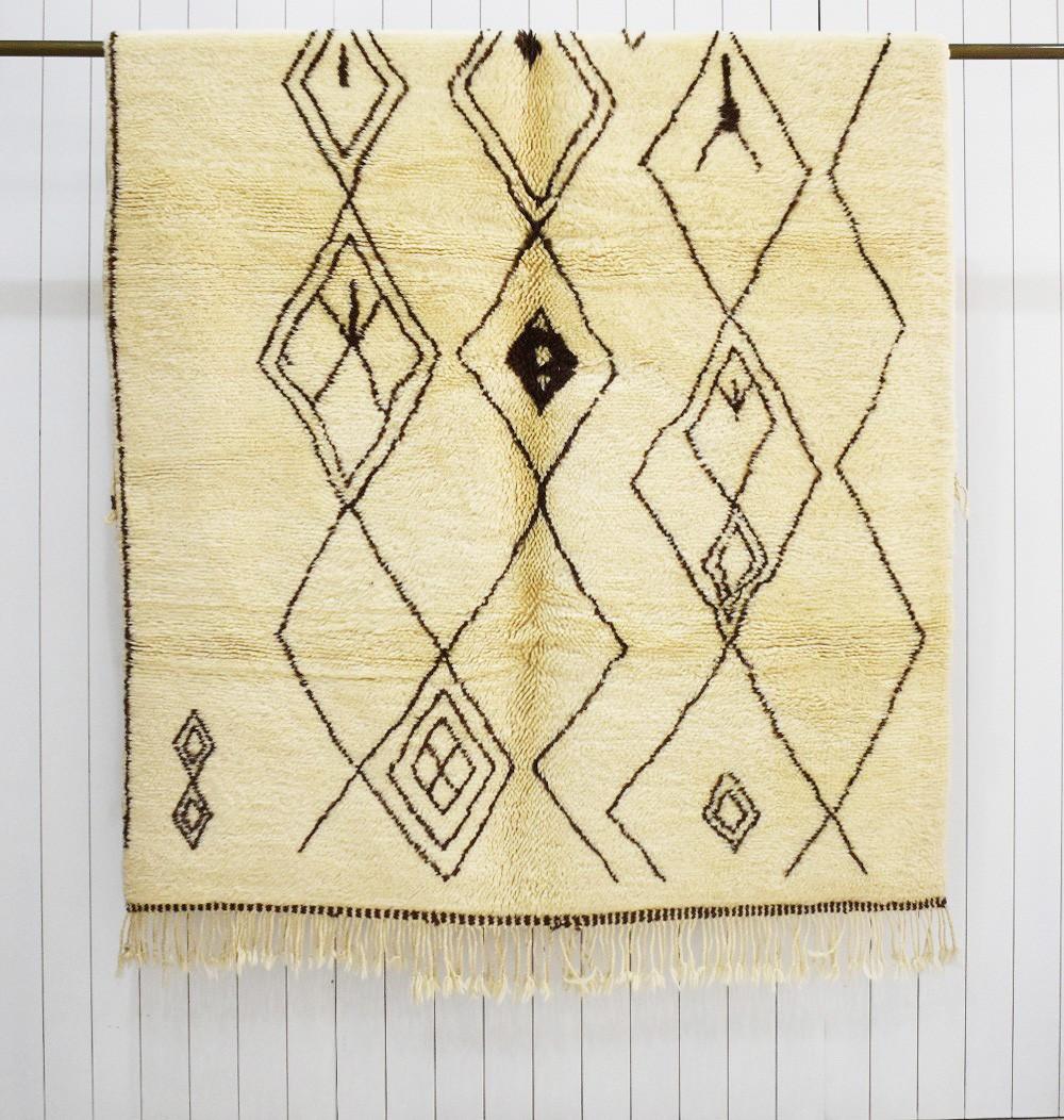 Mrirt motifs abstraits berbere
