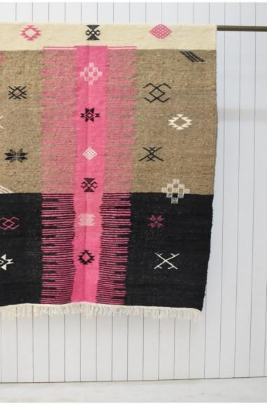 Tapis berbère Hanbel fond multicolore