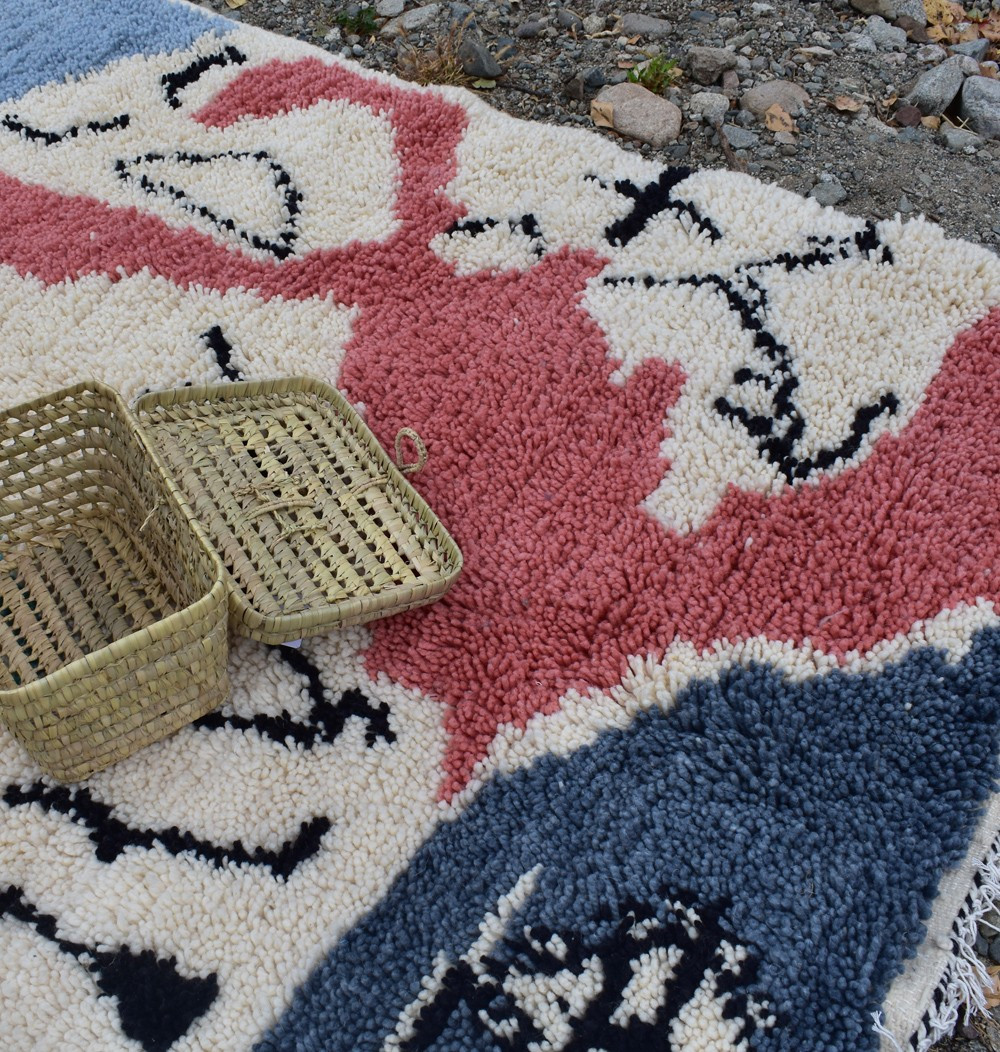 Berber carpet canvas master