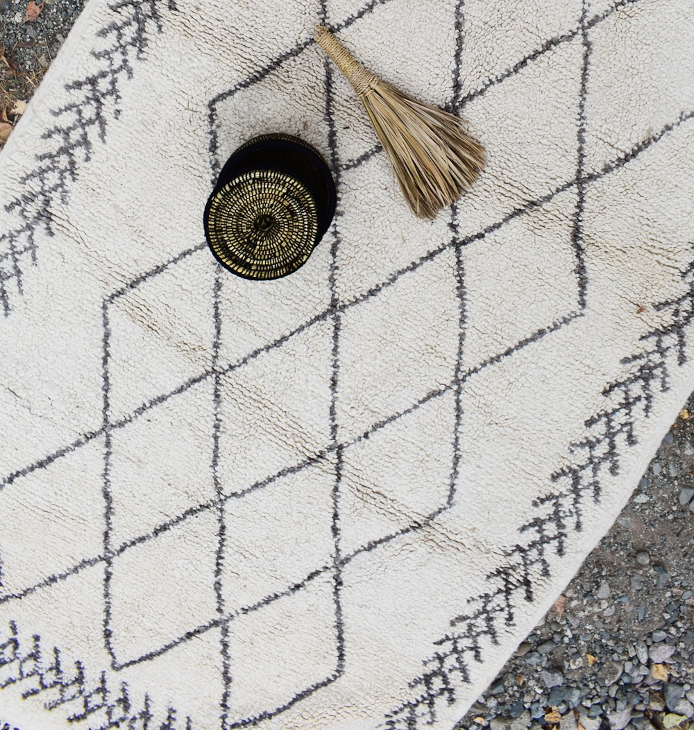 Tapis berbère losanges imbriqués