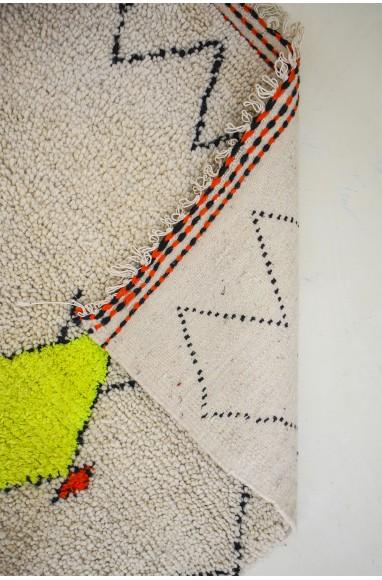 Neon Berber carpet