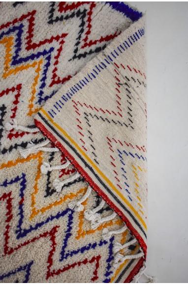 Colorful zigzag berber rugs