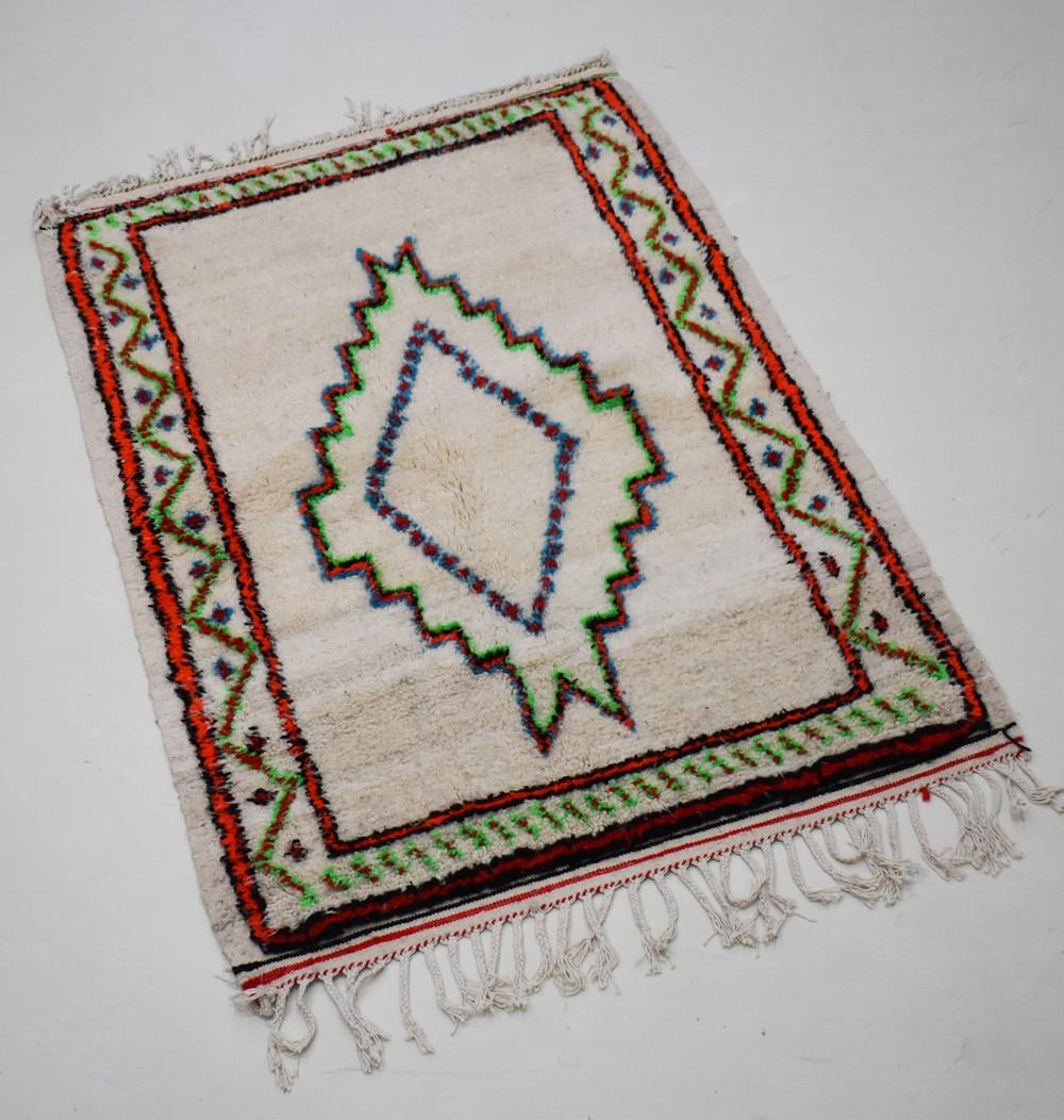 Berber carpet with Berber pattern