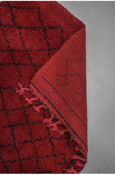 Tapis berbère couloir rouge