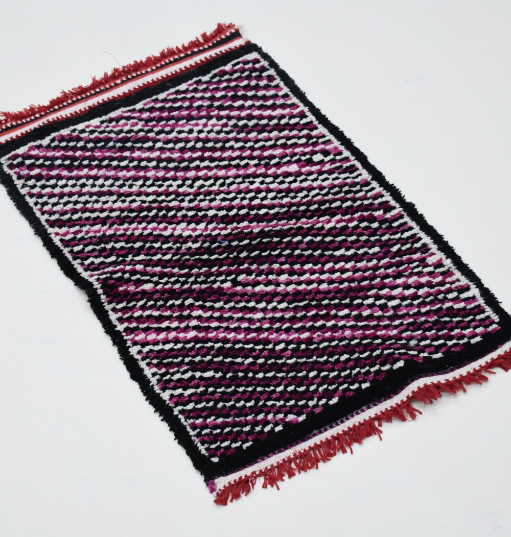 Berber rugs colored lines