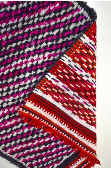 Tapis berbères lignes colorés