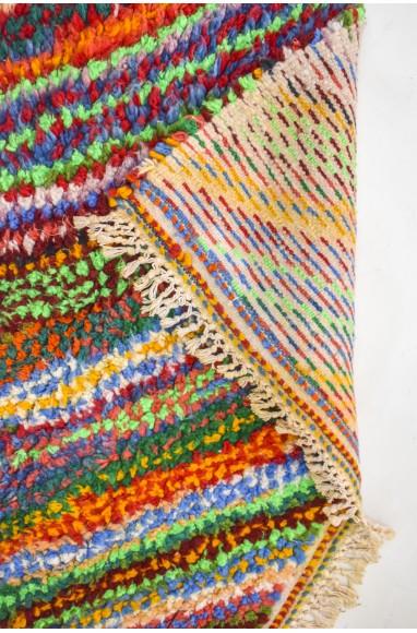 Tapis berbère aux milles couleurs
