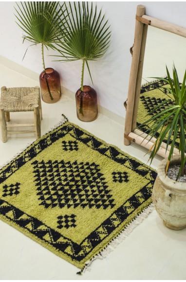 Mini berber carpet pistachio