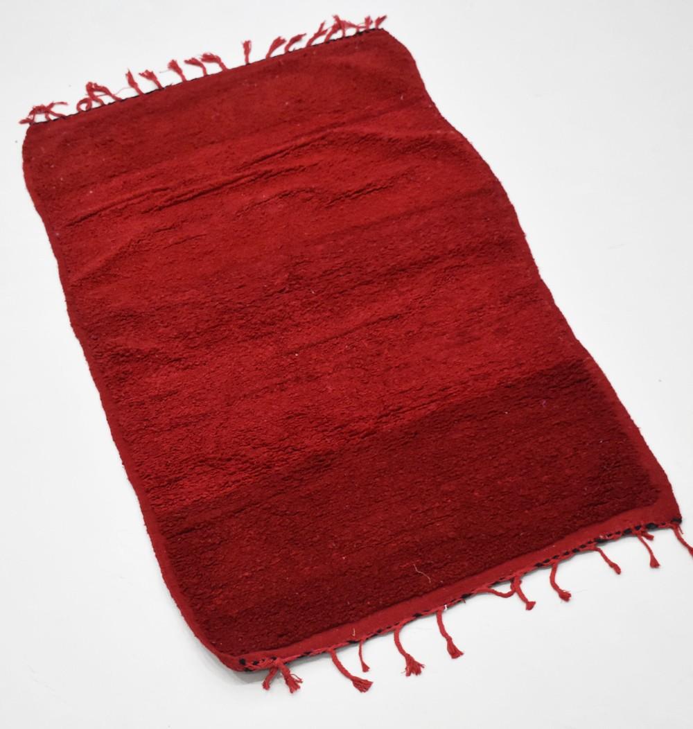 Tapis berbère rouge