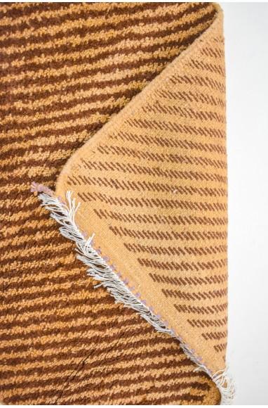 Mini Berber carpet brown