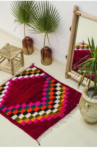 Small square Berber carpet