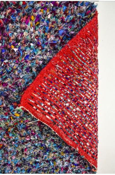 Grand tapis berbère Boucherouite