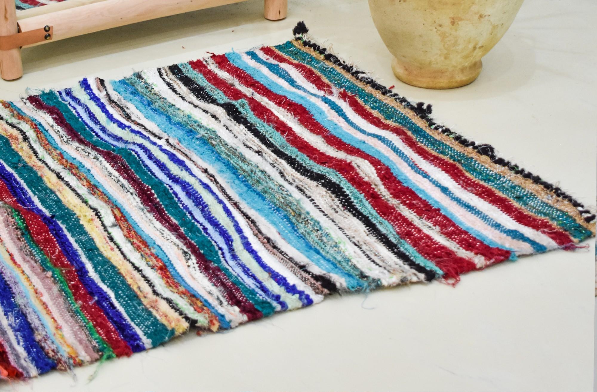 Flat colored berber carpet