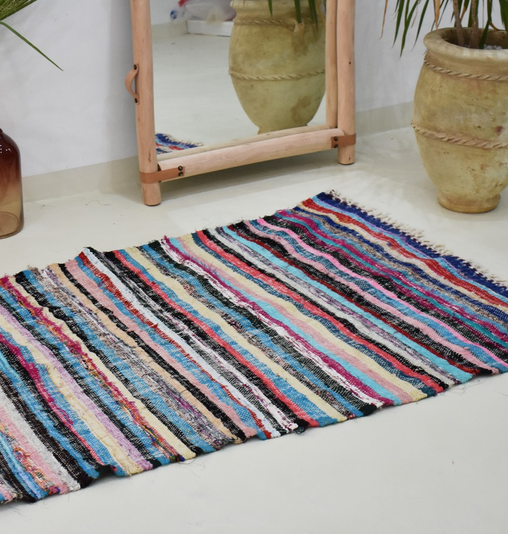 Berber carpet flat