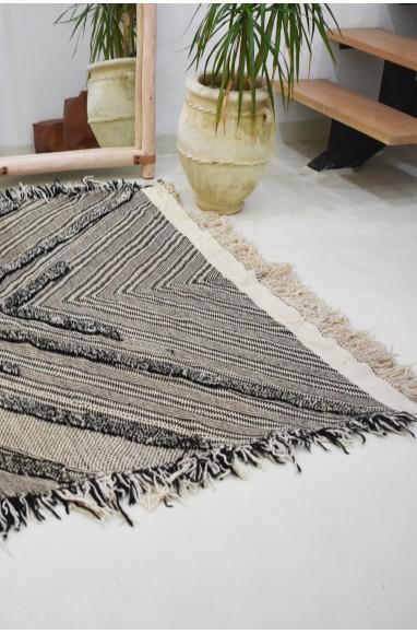 Tapis berbère gris en laine