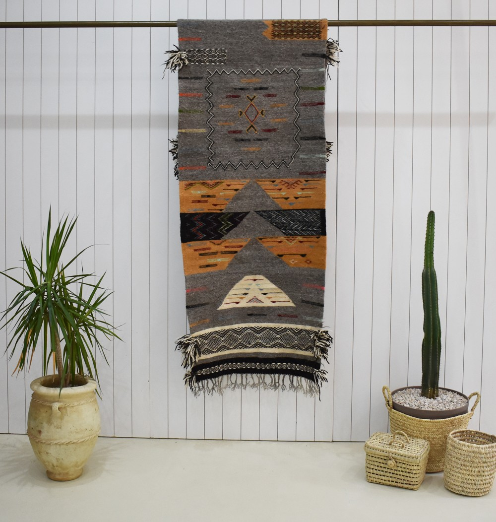 Beautiful tribal Berber carpet