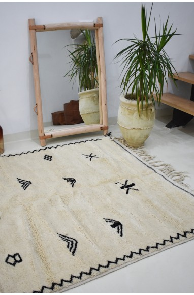 Tapis berbère Beni Ourain tribal