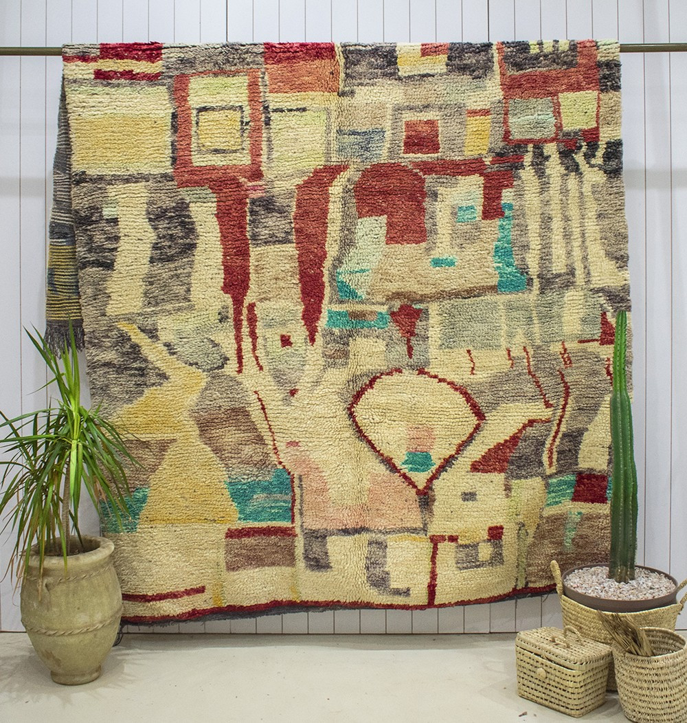 "Azilal carpet ""Land of Morocco"""