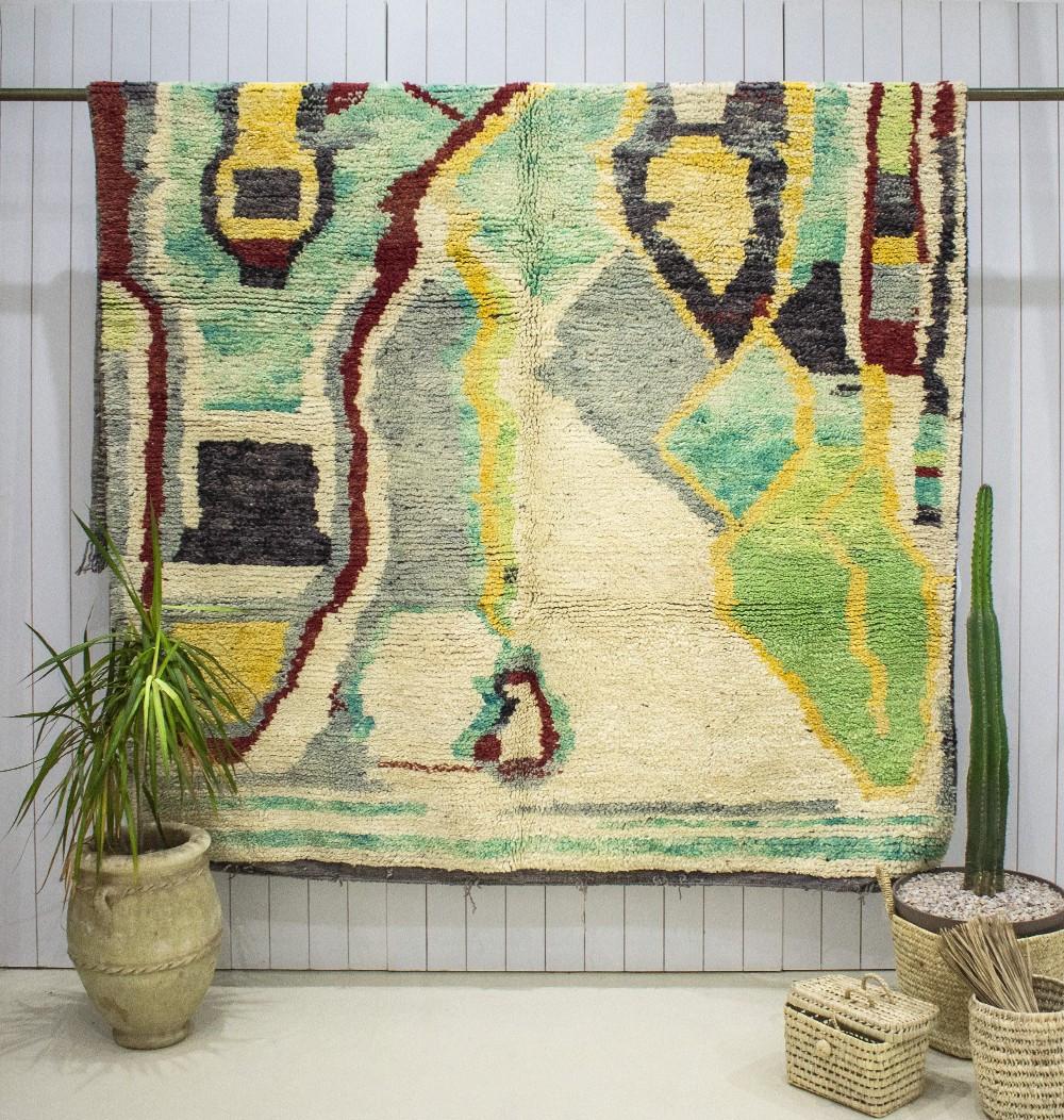 "Azilal rug ""Nature"""