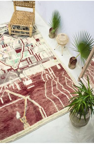 "Azilal rug ""Terre Rouge"""