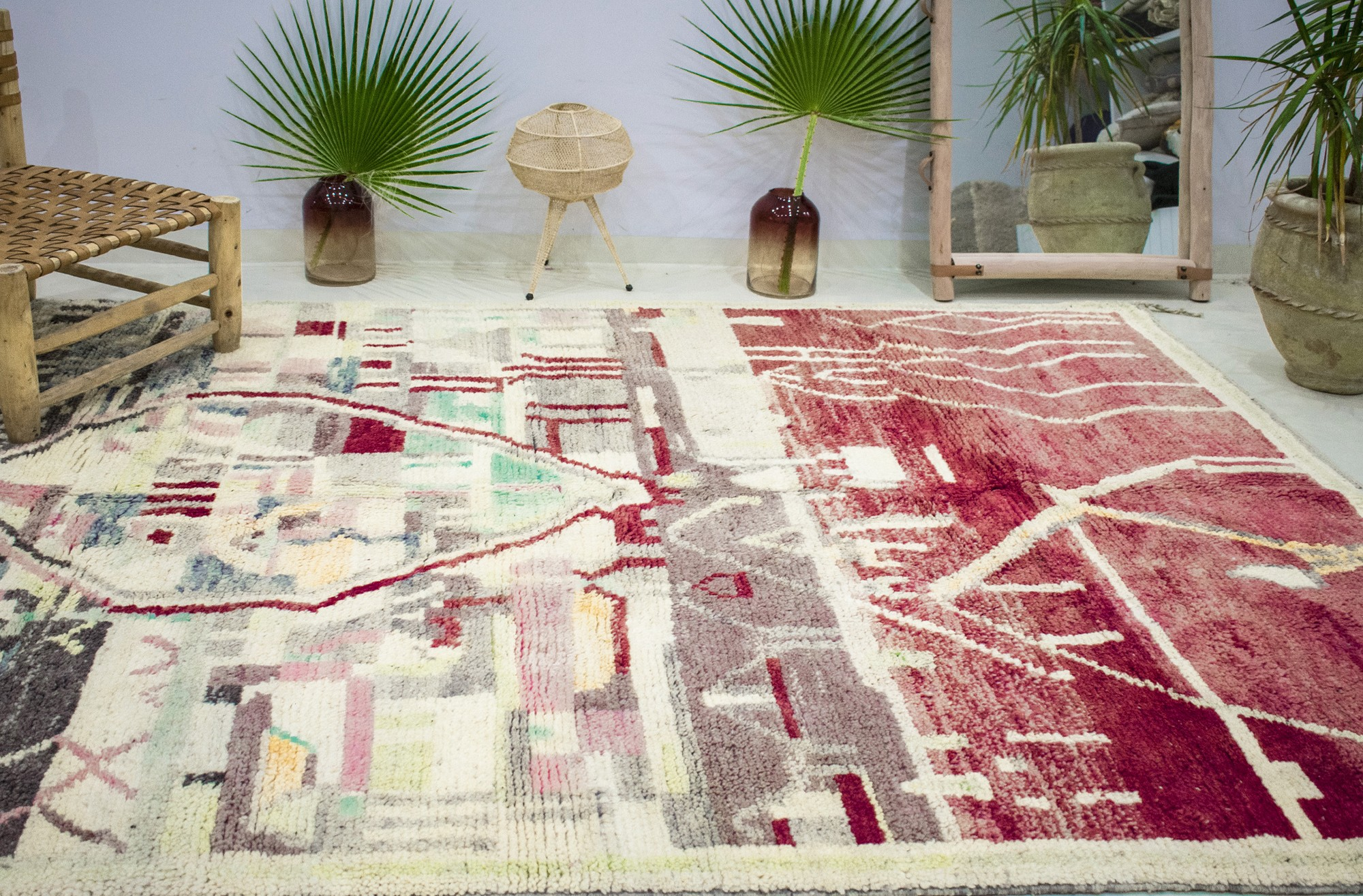 """Tapis Azilal """"Terre Rouge"""""""