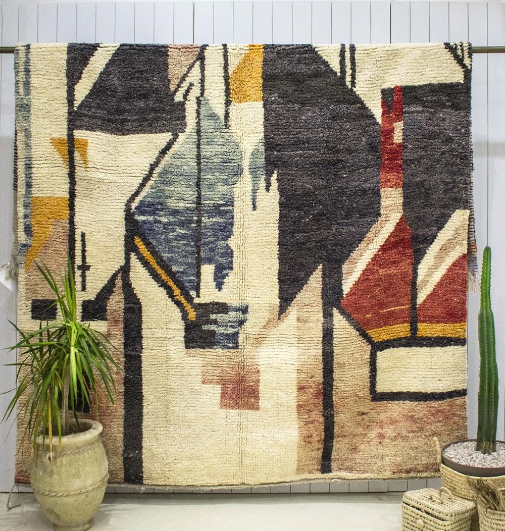 """Azilal carpet """"Modern Art"""""""