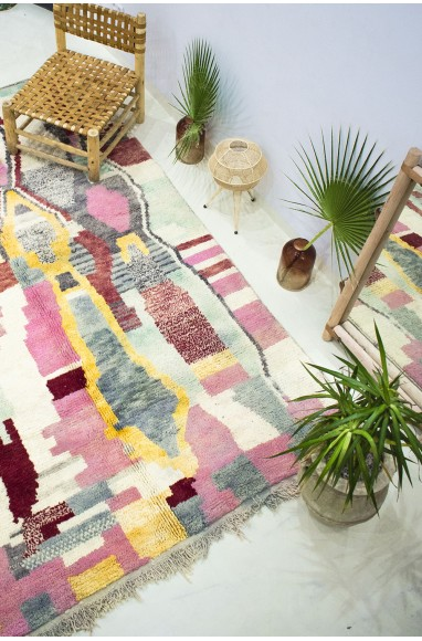 """Azilal carpet """"Explosion of colors"""""""