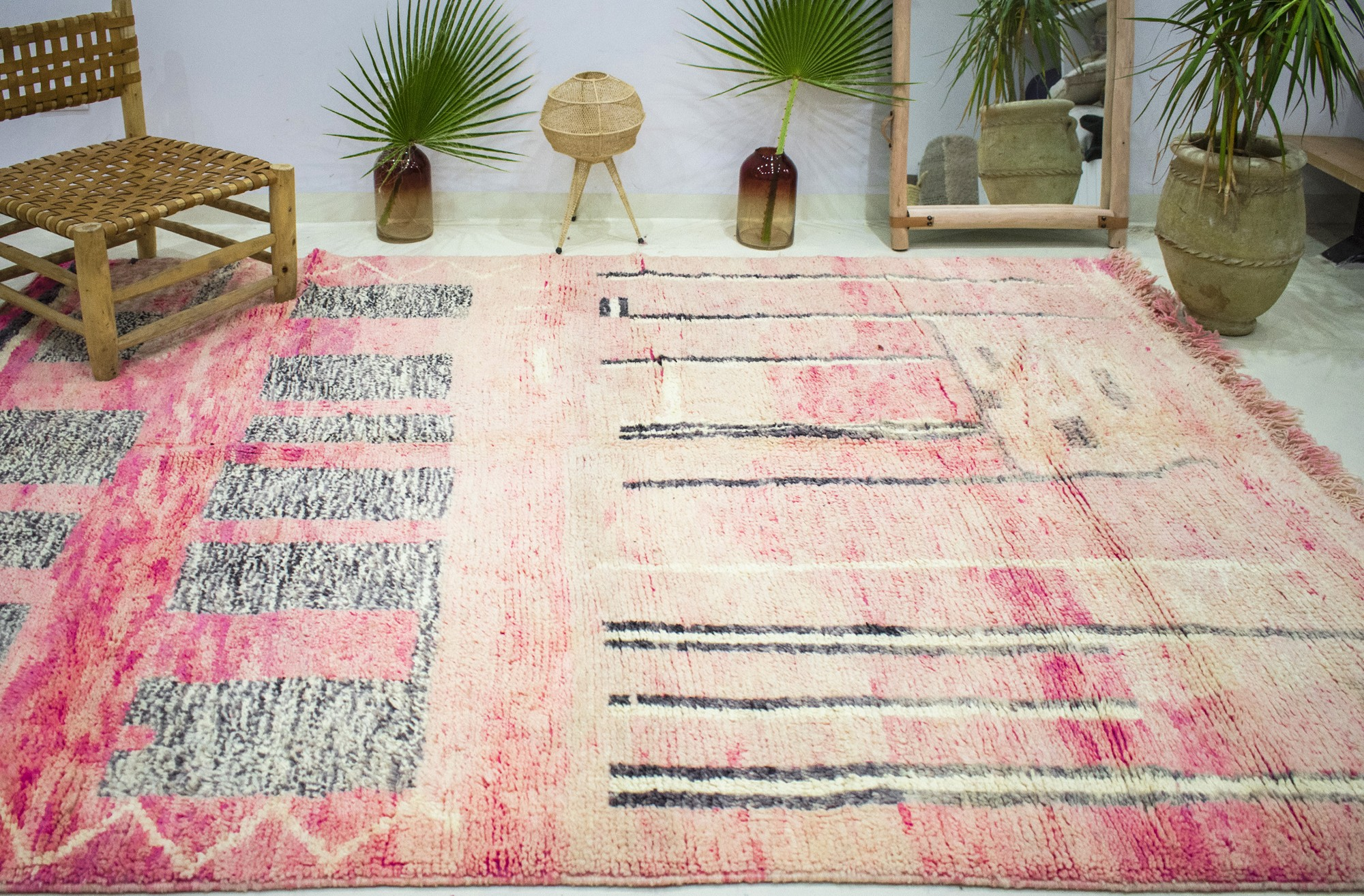 """Azilal rug """"Pink gradient"""""""