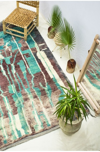 """Azilal rug """"In the heart of the forest"""""""