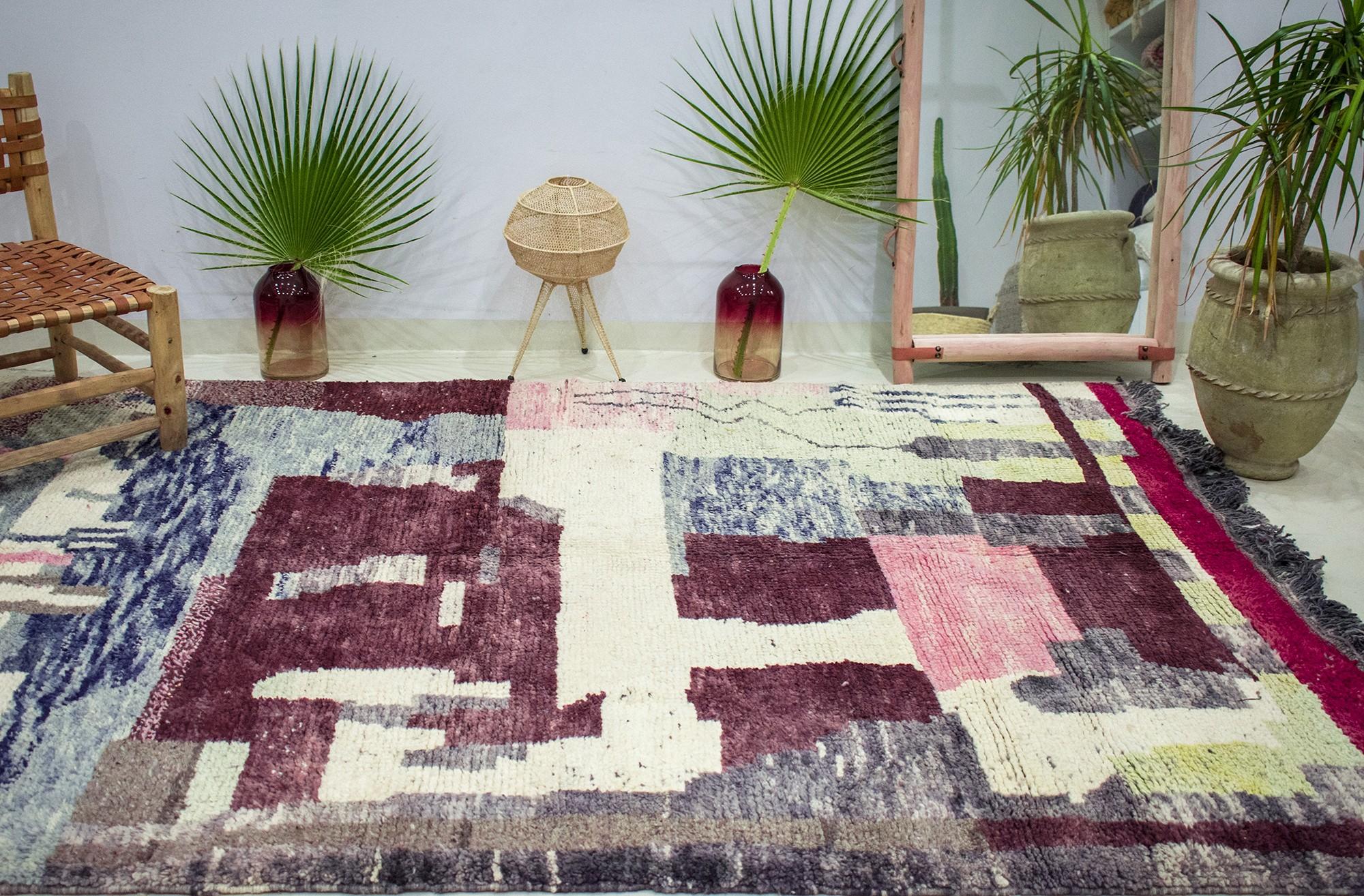 "Azilal carpet ""Distortion"""