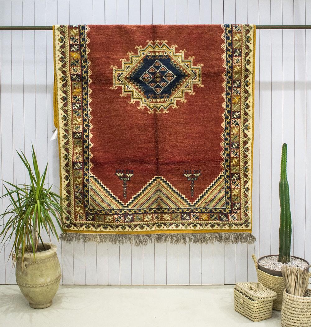 """Vintage """"Medieval"""" rug"""