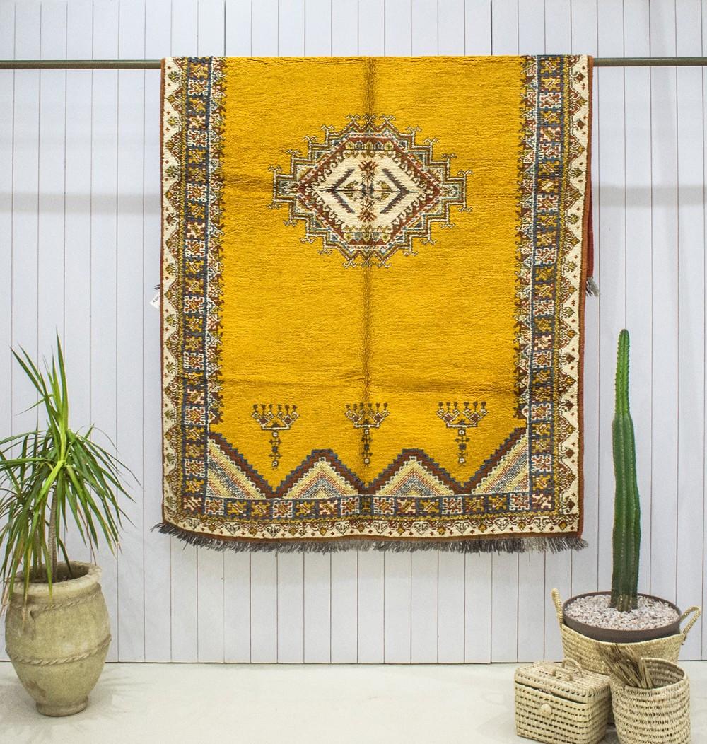 """Vintage """"Incas"""" rug"""