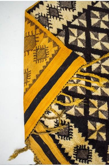 "Vintage rug ""Vertigo of helices"""