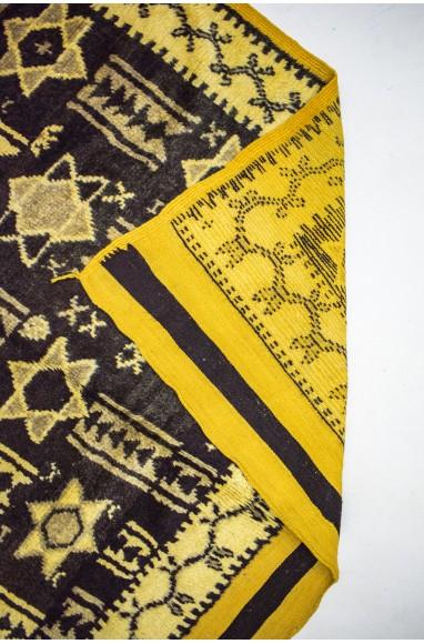 """Vintage """"Stars"""" rug"""