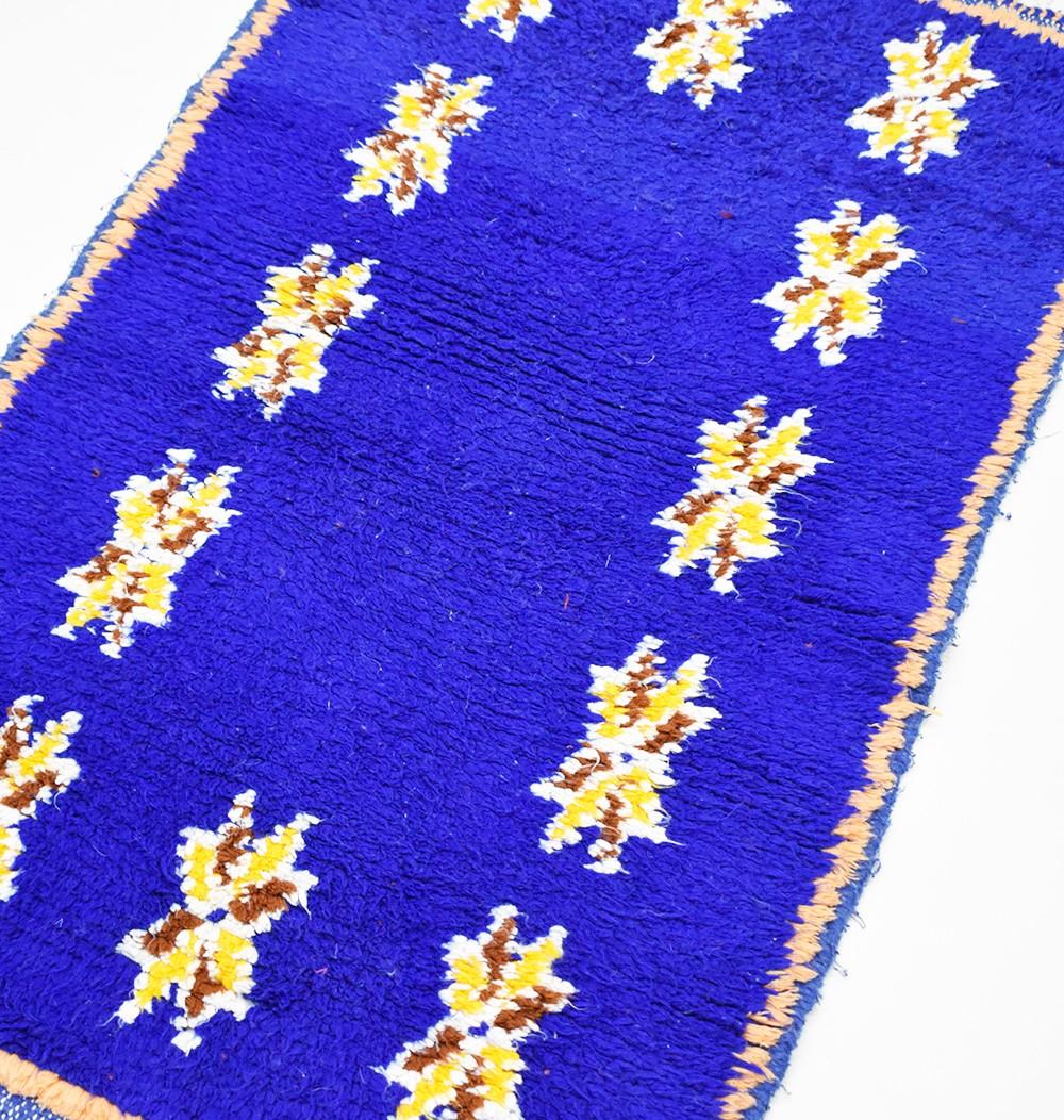 "Small Berber rug ""Berber stars"""