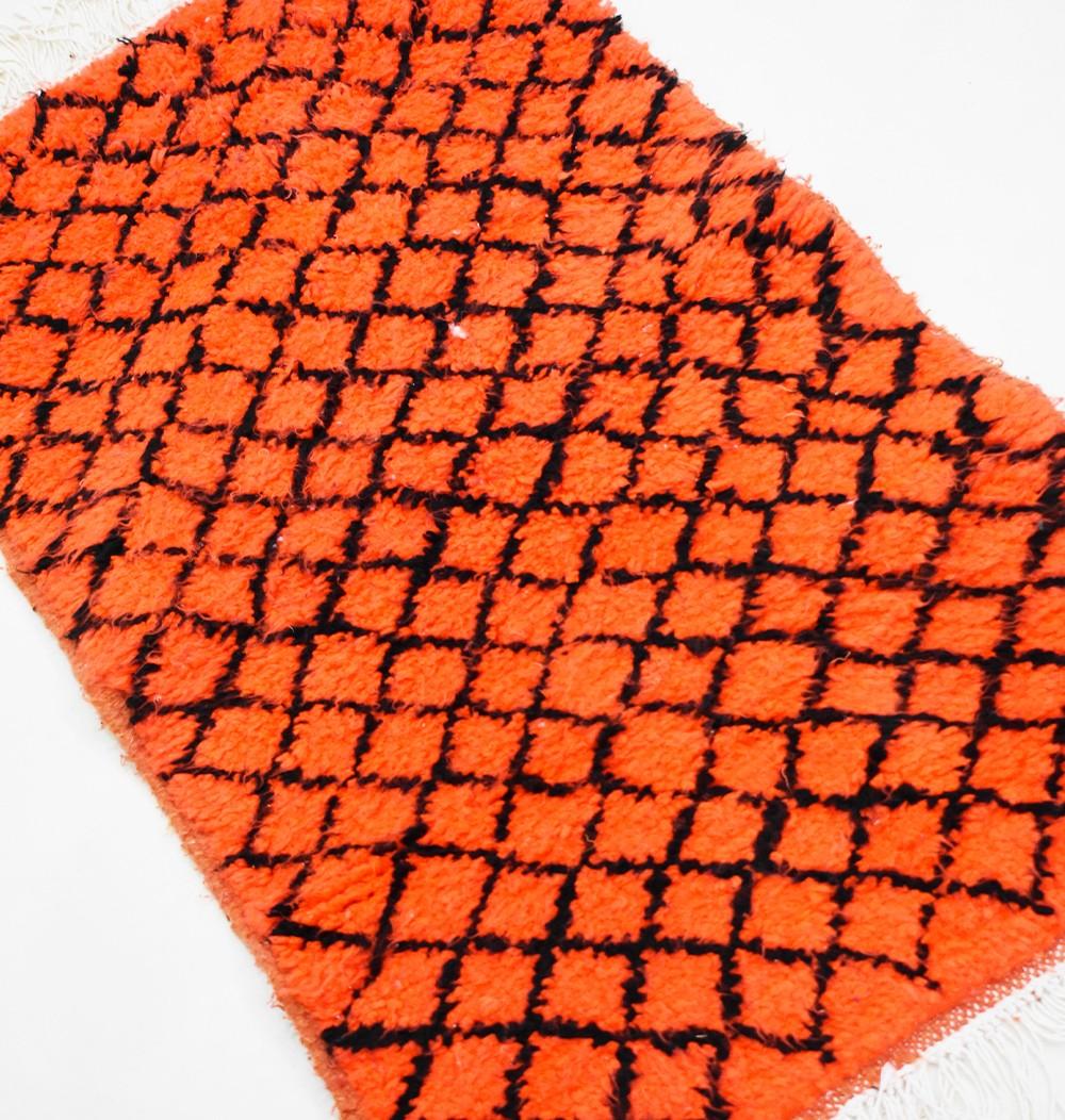 """Small Berber rug """"Harlequin"""""""