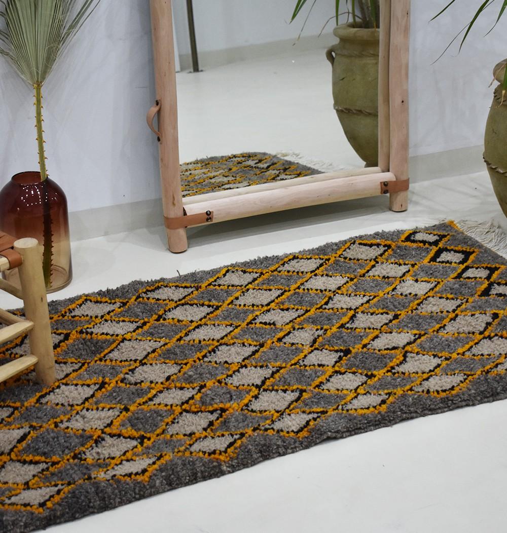 "Small Berber carpet ""Light"""