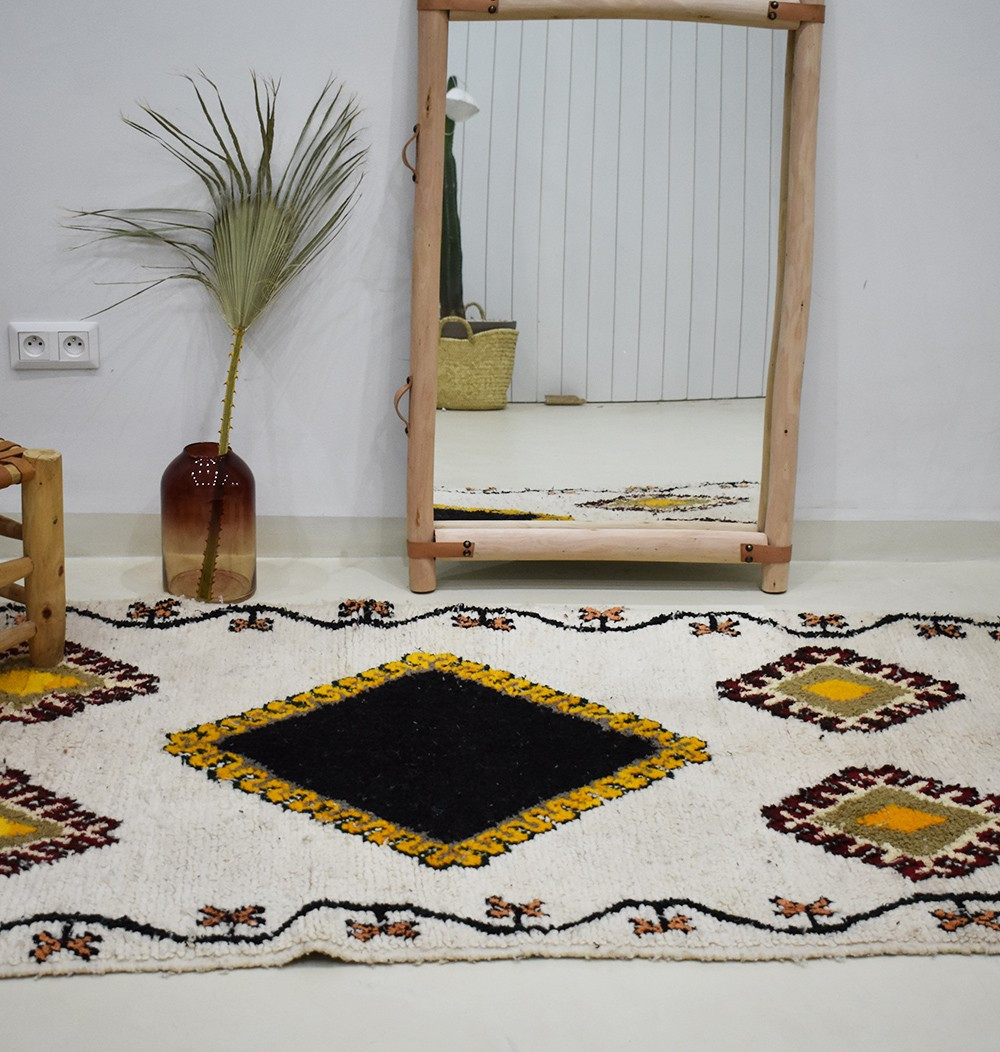 "Small Berber rug ""Mexico"""