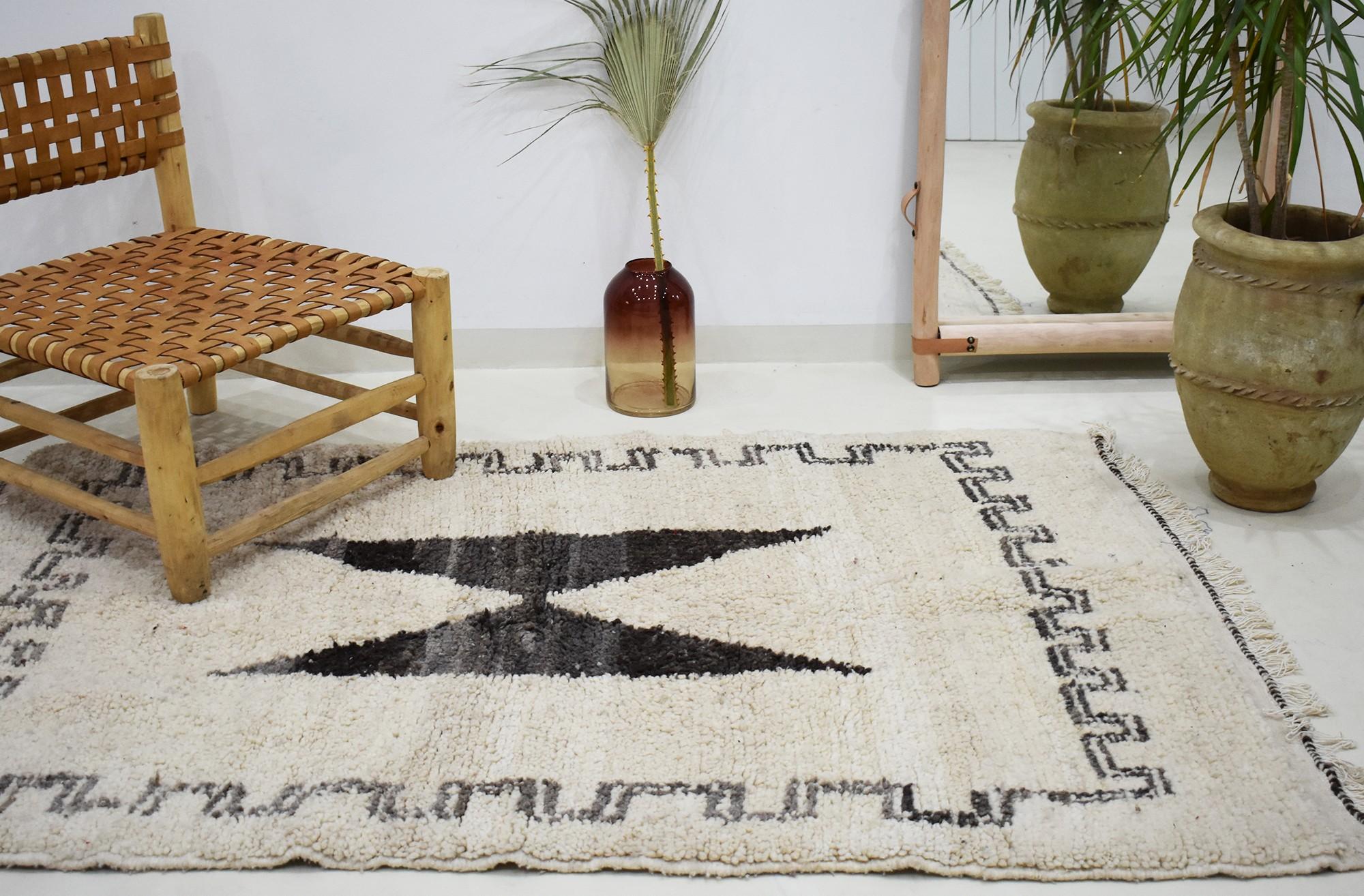 """Small Berber rug """"Anvil"""""""
