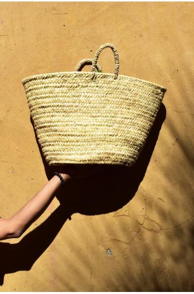 "Rafia basket ""Country"""