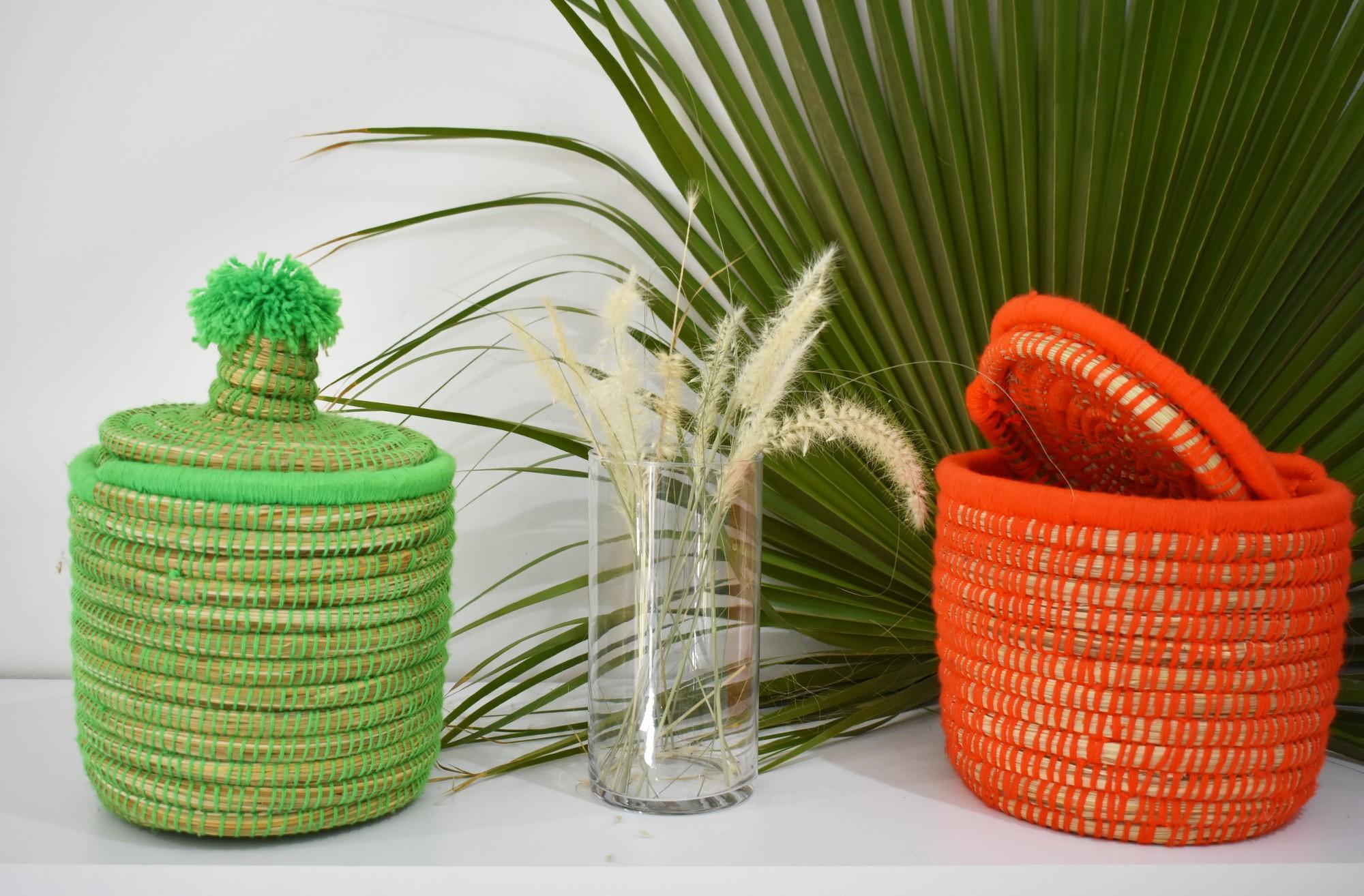 "Palm Tree Basket ""Granny"""