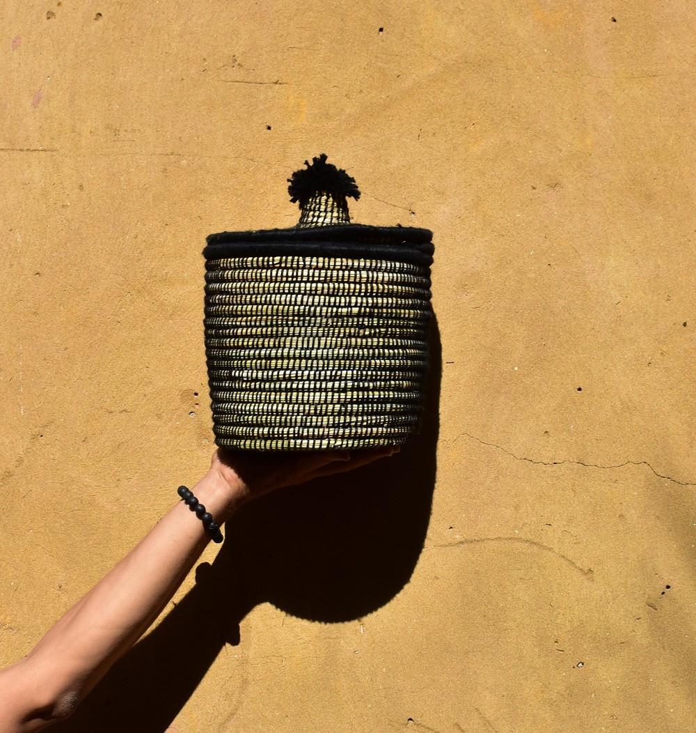 """Palm tree basket """"Metéorite"""""""
